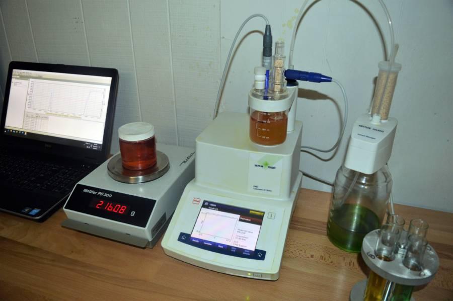 diesel fuel analysis laboratory